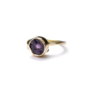 ROUGH STONE RING GOLD 026