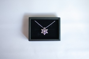 Himmeli Star - Necklace (Silver color) 星のネックレス