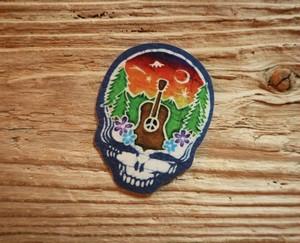 Skull & Guitar sticker
