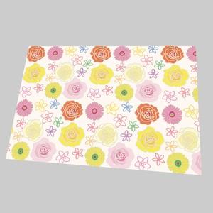 A4包装紙 flowers
