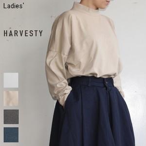 HARVESTY モックネックカットソーL/S Mockneck Long Sleeve A51802