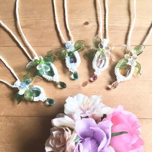花の精とワルツを。ミニペンダント〔アンダラクリスタル〕
