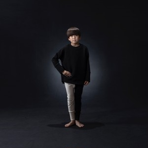 arkakama BASIC Sarouel Leggings (IVORY×BLACK) M/L  AKL00012-2 ※一枚までメール便可