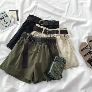 新作 夏 オシャレ ワイドパンツ カッコイイ カジュアル ベルト付き 合わせやすい パンツ・ボトムス