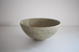 小林耶摩人|ボウルSS(4寸) 灰釉