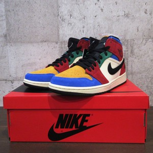 "NIKE AIR JORDAN 1 MID SE FRLS NA ""BLUE THE GREAT"""