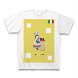 民族衣装Tシャツ イタリアxネズミ