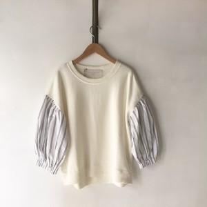 soi-e スウェットシャツ ホワイト