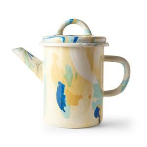 BORNN / NEW MARBLE - Medium Teapot - Lemon Cream