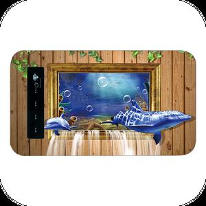 #000-012 動物系・かわいい系  モバイルバッテリー  《dolphin》  iphone  スマホ 充電器