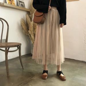 Ray1月号掲載 pleat chiffon skirt  5244