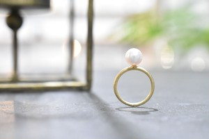 Hanadama Pearl Ring / K18YG