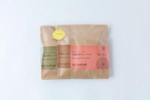 新川製茶|ティーバック3種(緑茶・焙じ茶・紅茶)お試しセット