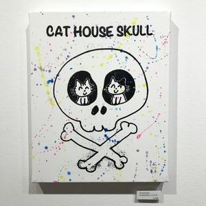 「CAT HOUSE SKULL」作品