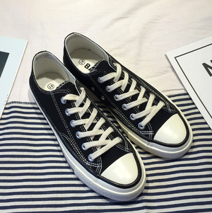 Trendy style canvas shoes LD0437