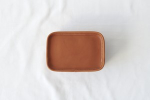 【LIMITED】Camel Leather Multi Pouch -Earth Leather-