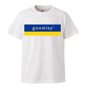 goomiey ロゴTシャツ(ホワイト)-XLサイズ