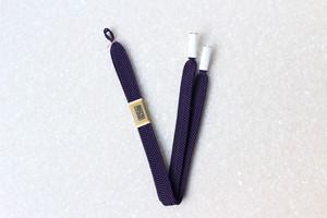 笹浪組 男性用羽織紐 古代紫