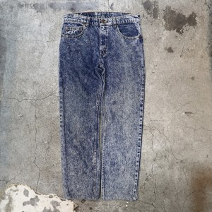 "90's Levi's chemical wash denim pants ""506"""