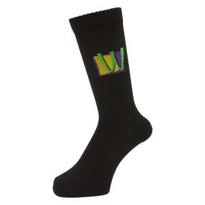 WHIMSY / POISON SOCKS -BLACK-
