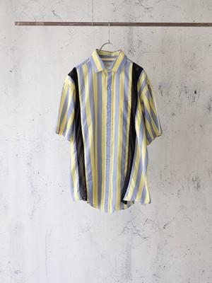 switching mesh shirt