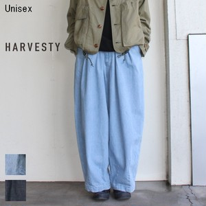 HARVESTY デニムサーカスパンツ CIRCUS PANTS A11801 (LIGHT BLUE)