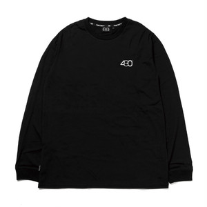 430 FOURTHIRTY  REF BAR L/S TEE  BLK  サイズ 2