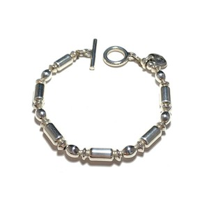 STEADY HIGH/ステディハイ Silver Beads bracelet-F