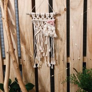 macrame weaving mini tapestry