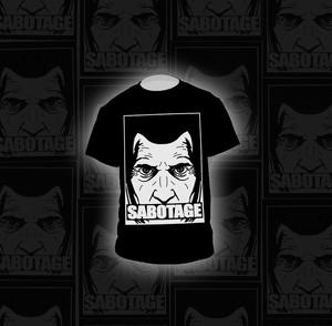 SABOTAGE SABOicon S/S TEE BLACK