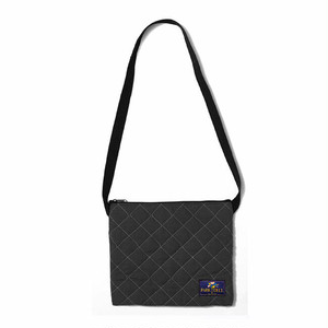 PARK DELI - QUILTED SACOSH (Black)