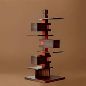 タリアセン Frank Lloyd Wright / TALIESIN4 ウォルナット S7317 / yamagiwa(ヤマギワ)