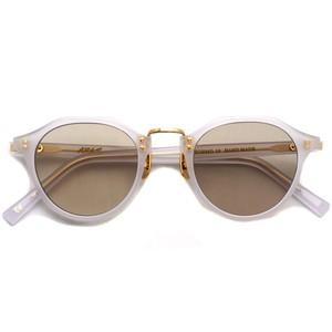 A.D.S.R. / SATCHMO10 サッチモ / Pale Gray / Gold - Light Brown ペールグレー/ゴールド ライトブラウンレンズ サングラス