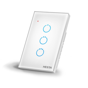 HESTA スマート壁スイッチ(3回路)