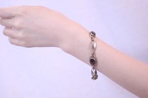 8 purple bracelet