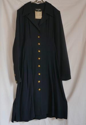 CHANEL Open Collar Dress