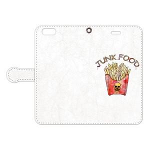 [手帳型iPhoneケース] French fries