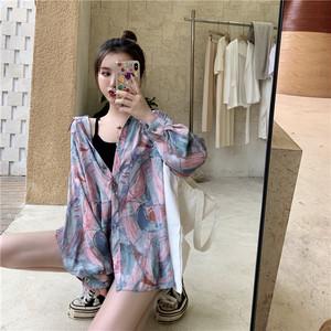 【配送優先】【トップス】長袖韓国系シングルブレストPOLOネックシャツ26521325