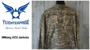 05年製 米軍放出 ミリタリーACUジャケット(SMALL-LONG)☆アメカジミリタリーファッション