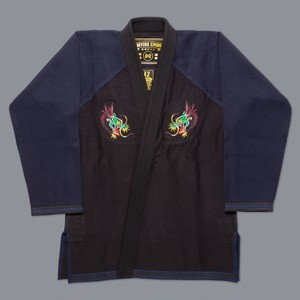 """SCRAMBLE スカジャン ""ドラゴン"" 柔術衣"