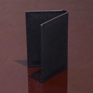 ARI BLACK / PINETTI DOUBLE BUISINESS CARD HOLDER CREAM(アリ ブラック / ピネッティ ダブルビジネスカードホルダー)