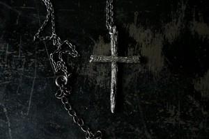 Dead twig Cross necklace