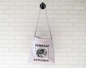 SAMPAIO KITCHEN _ ショルダーバッグ [ライトグレー × ブラック]