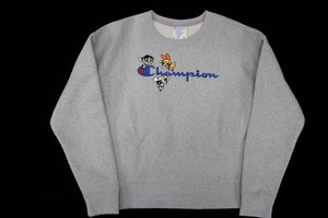 champion×Powerpuff Girls sweatshirts