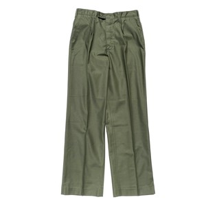 USED Dead Stock SWEDEN Army Utility pants - military green