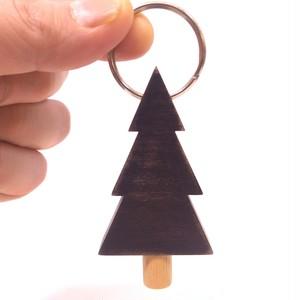 木のキーホルダー