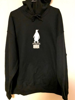 "HOPESFALL ""PENGUIN"" Pullover Hoodie / Black"
