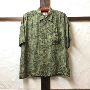 silk shirt C 丈69幅60