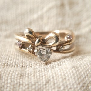 60s vintage silver ring