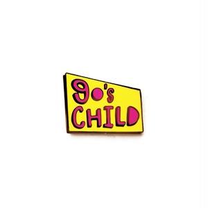 """Pinship""""90's Child Pin"""""""